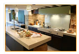 interior design in kitchen